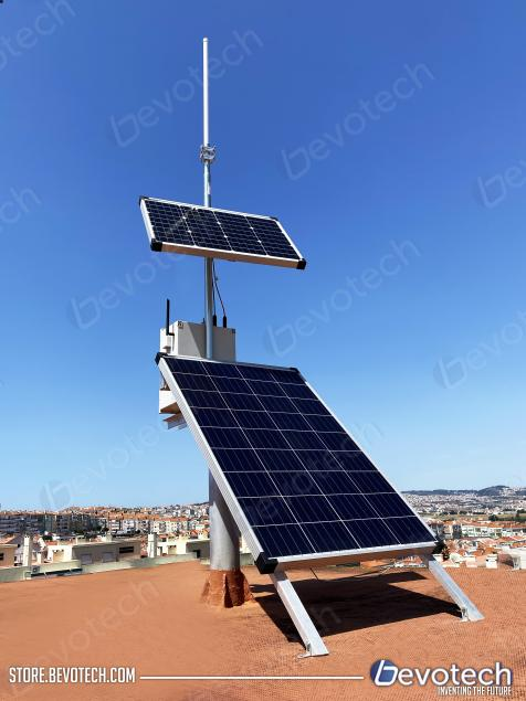 Helium solar pannel