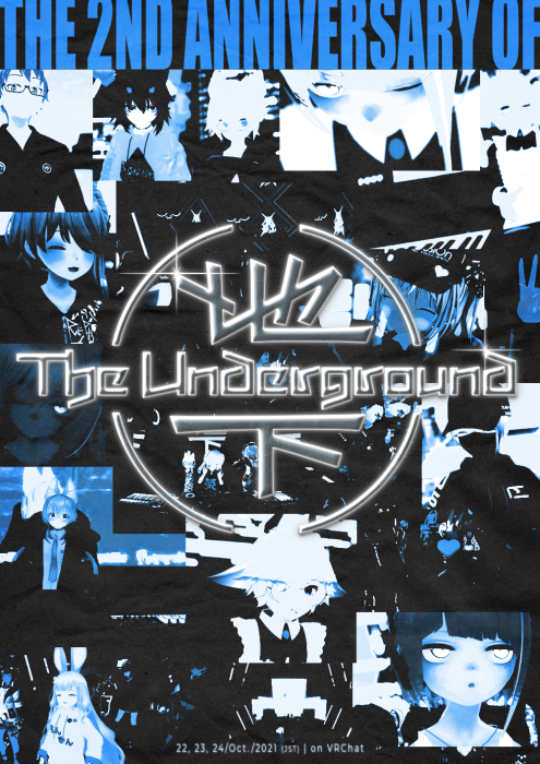Flyer for CLUB: THE UNDERGROUND 2ND ANNIVERSARY EVENT (DAY 3)