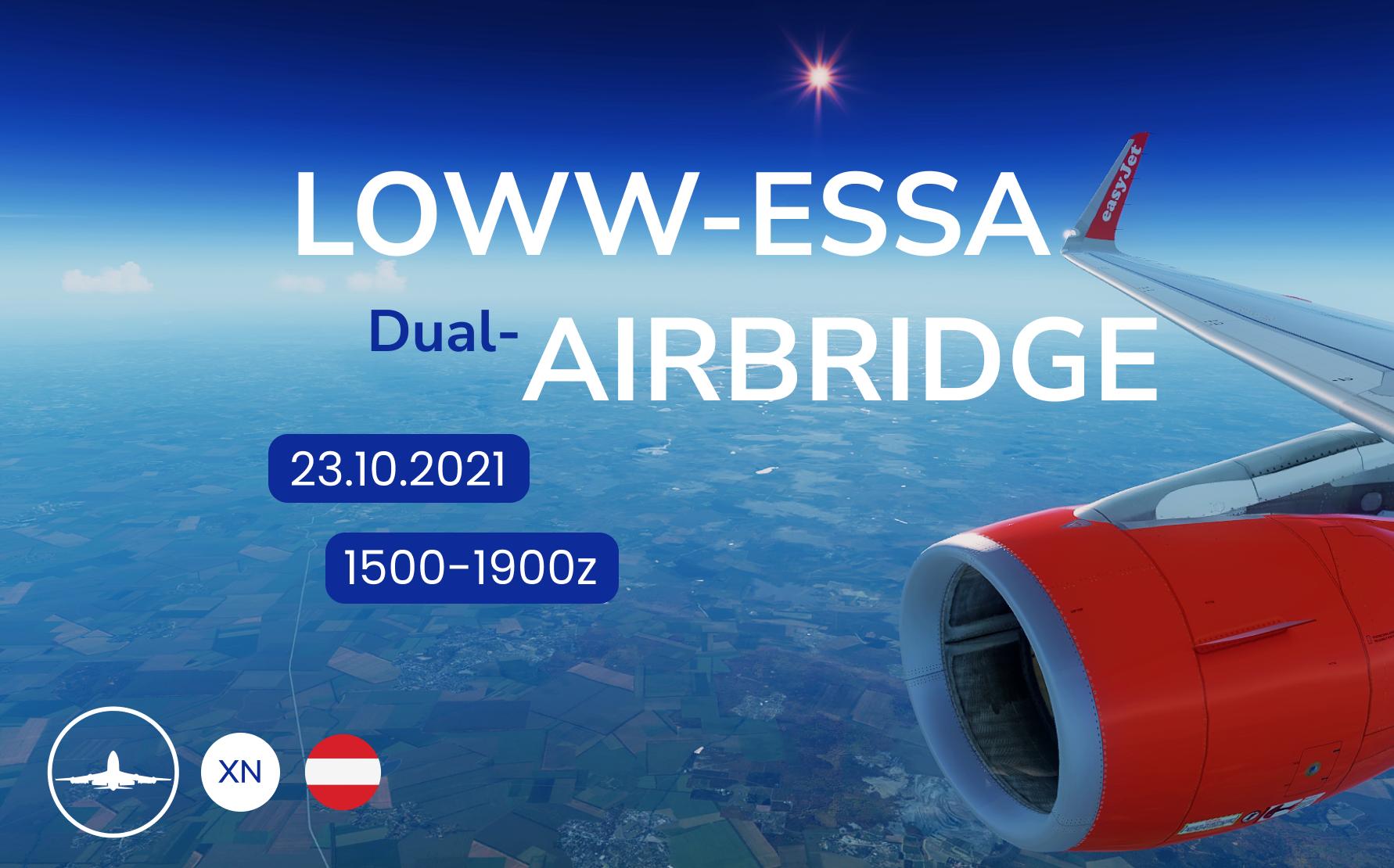 Vienna < > Stockholm (Dual)Airbridge